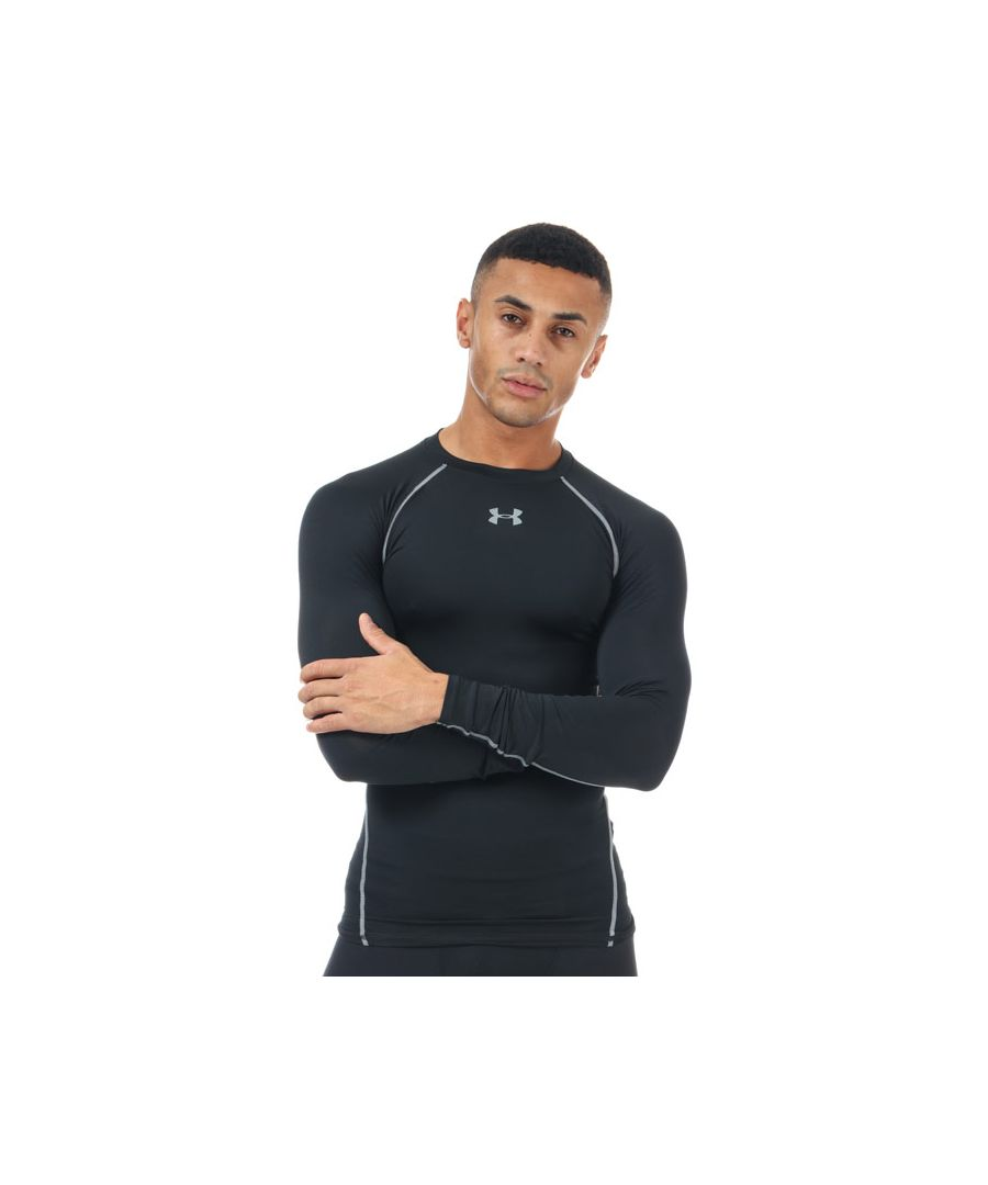 Image for Men's Under Armour Armour Long Sleeve Compression Shirt in Black