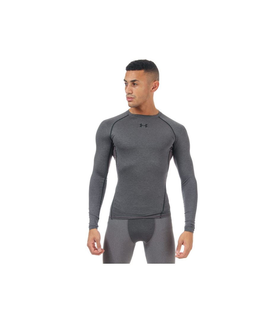 Image for Men's Under Armour Armour Long Sleeve Compression Shirt in Grey