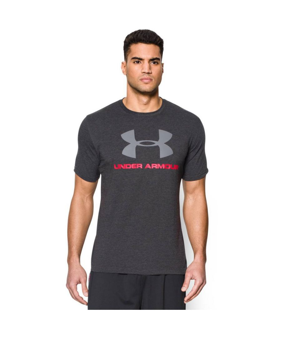 Image for Under Armour Mens Sportstyle Center Logo Short Sleeve T Shirt