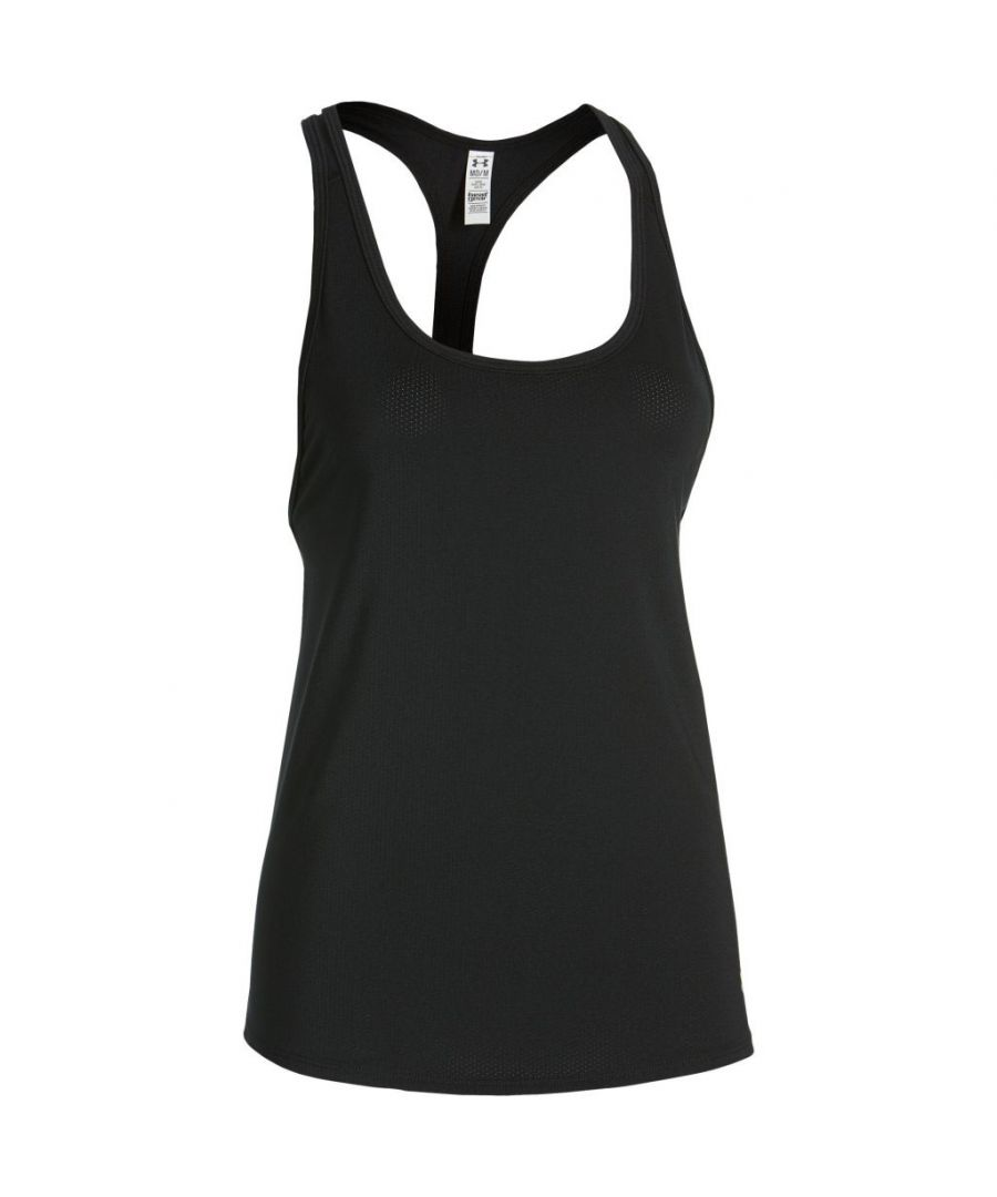 Image for Under Armour HeatGear Loose Womens Tank Black
