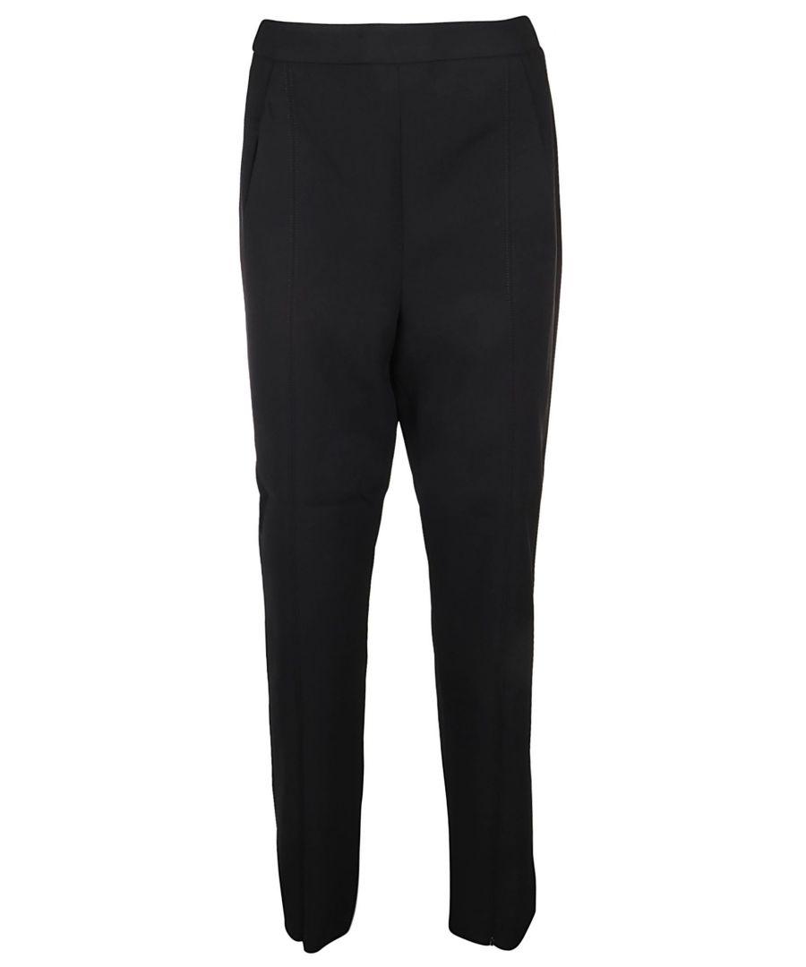 Image for SELF-PORTRAIT WOMEN'S SP23110BBLACK BLACK POLYESTER PANTS