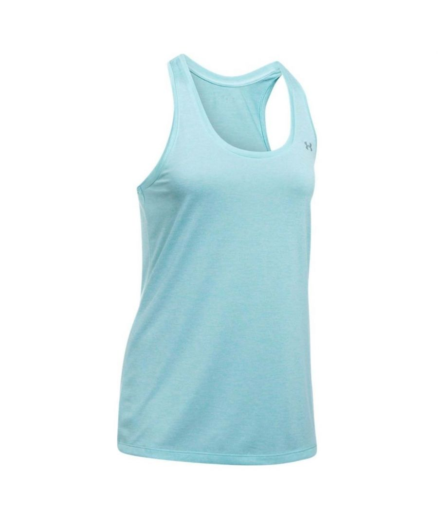 Image for Under Armour Tech Twist Womens Tank Top Blue - UK 8-10