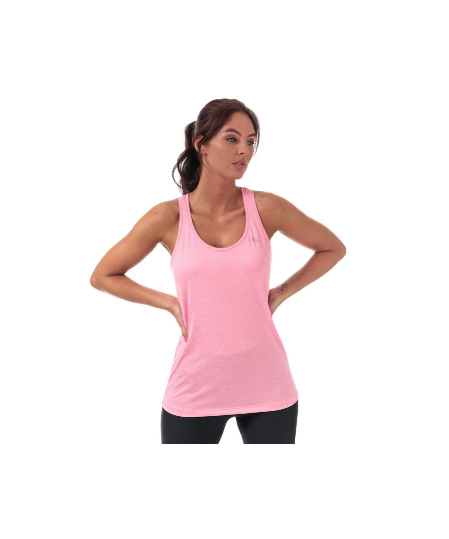 Image for Women's Under Armour UA Tech Twist Tank in Pink