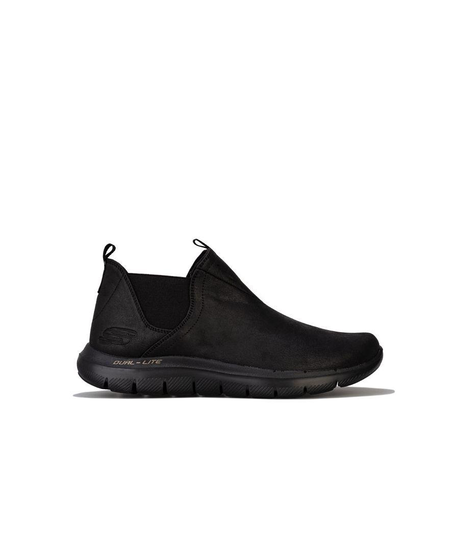 Image for Women's Skechers Flex Appeal 2.0 Done Deal Boots in Black