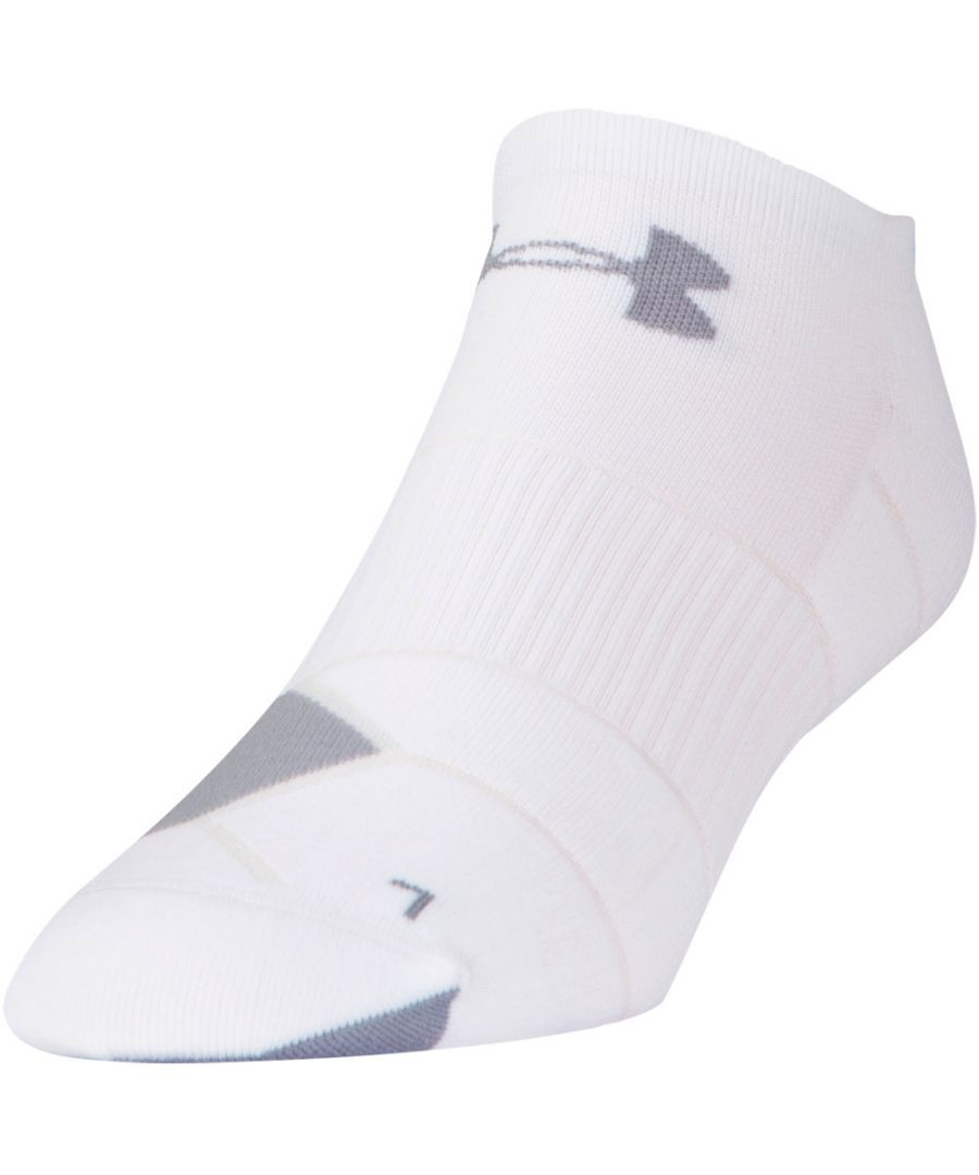 Image for Under Armour Mens Run Launch No Show Stretch Wicking Running Socks