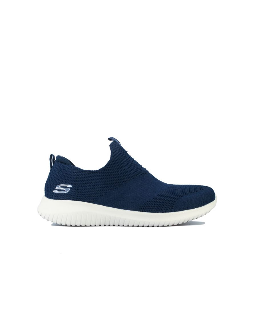 Image for Women's Skechers Ultra Flex First Take Trainers in Navy