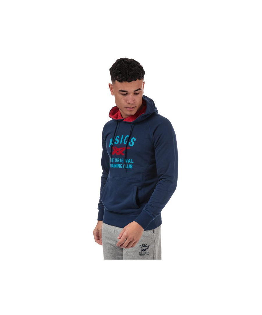 Image for Men's Asics Graphic Training Hoody in Blue