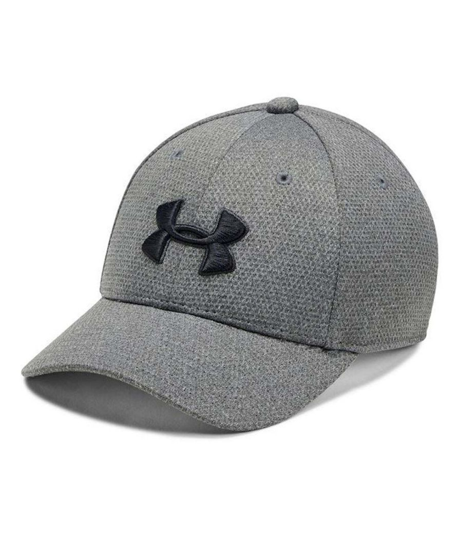 Image for Under Armour Heathered Blitzing Kids Cap Grey