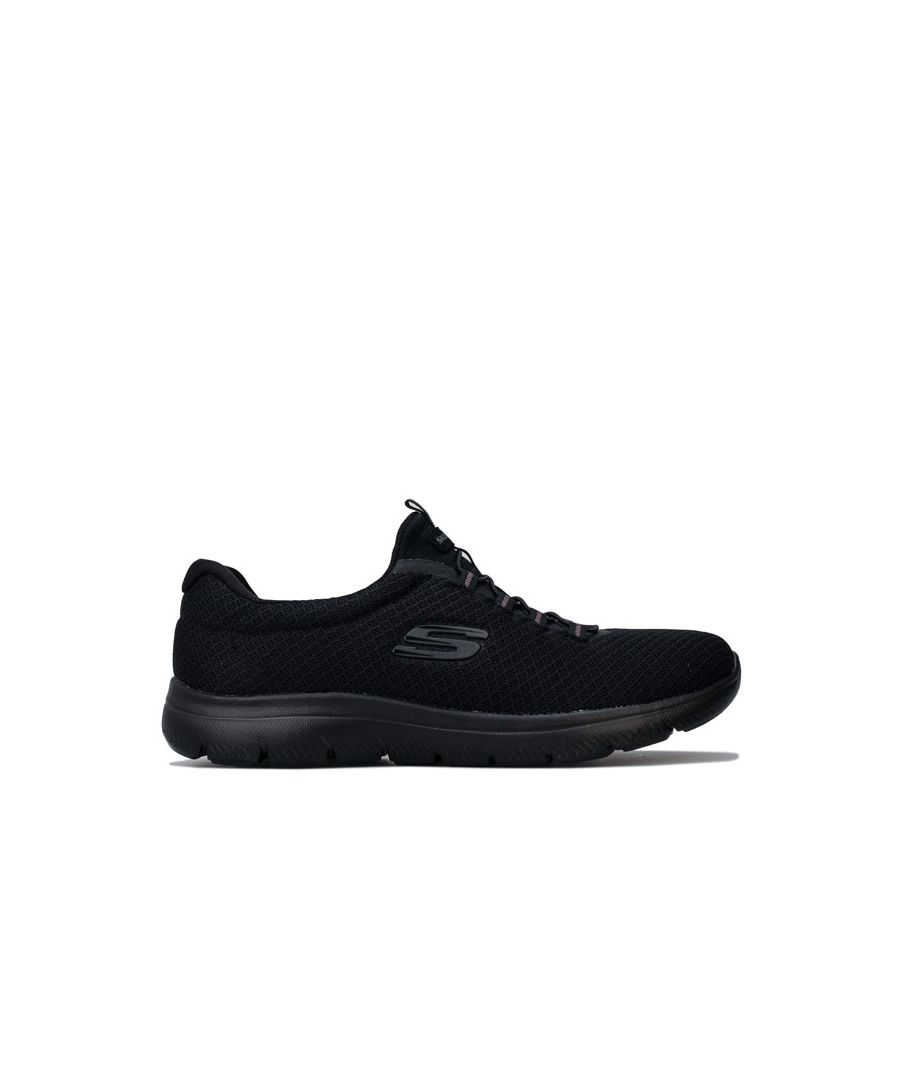 Image for Women's Skechers Summits Trainers in Black