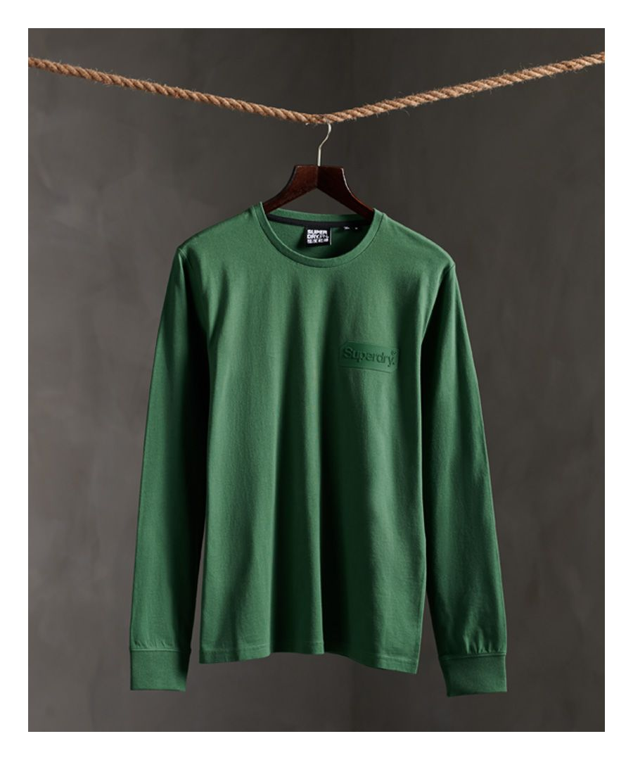 Image for Superdry Core Logo Tonal Long Sleeved Top