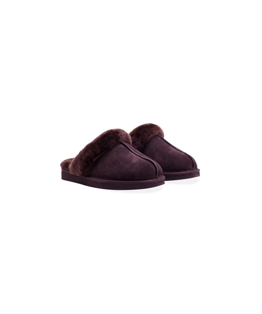 Image for Redfoot Ann Chocolate Slippers