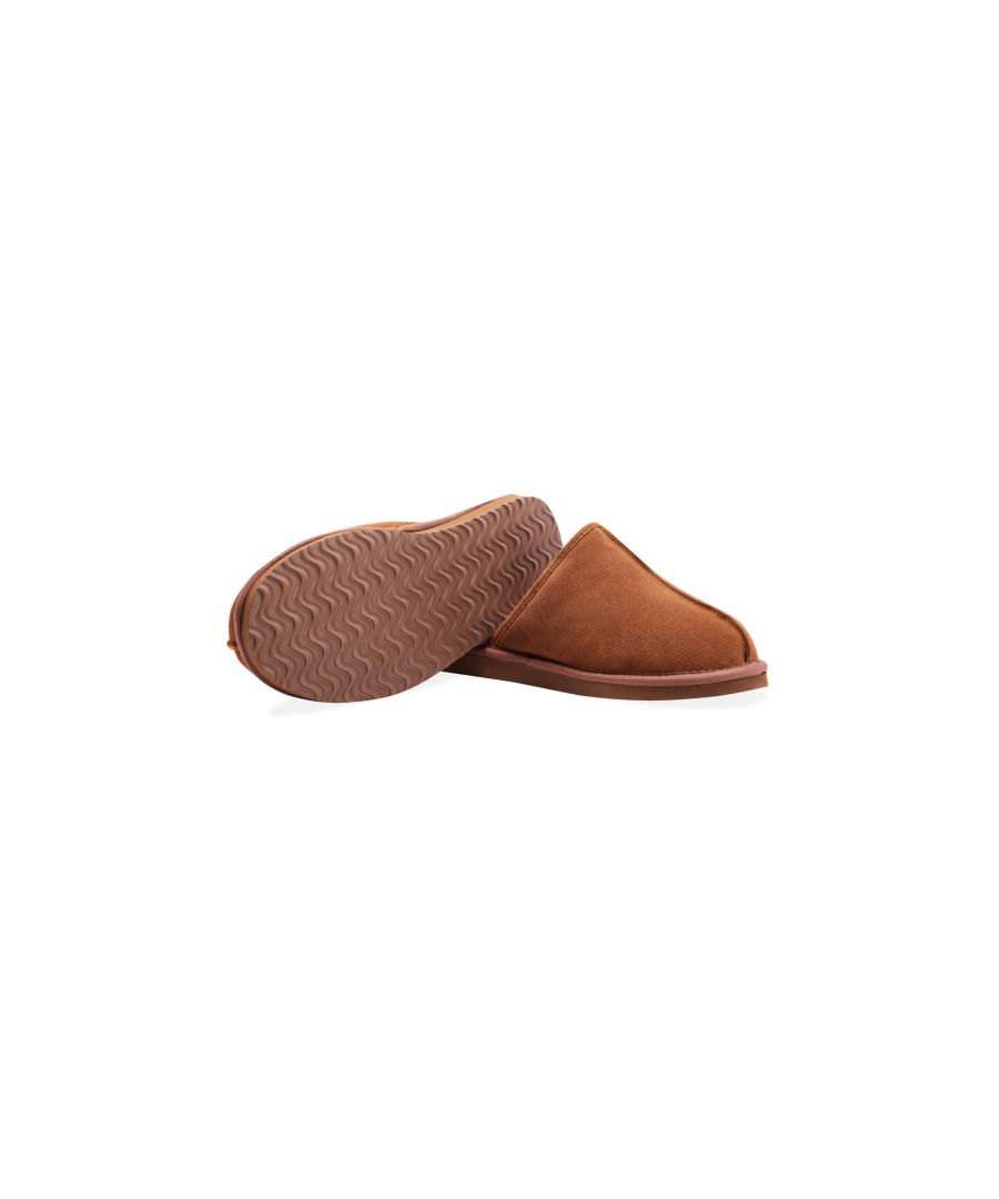 Image for Redfoot Allen Tan Slippers