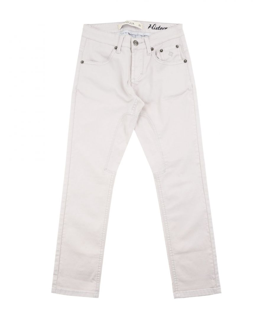 Image for TROUSERS Siviglia Light grey Boy Cotton
