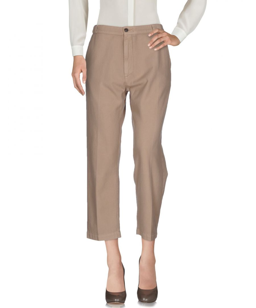Image for True Nyc® Beige Cotton Pantaloni