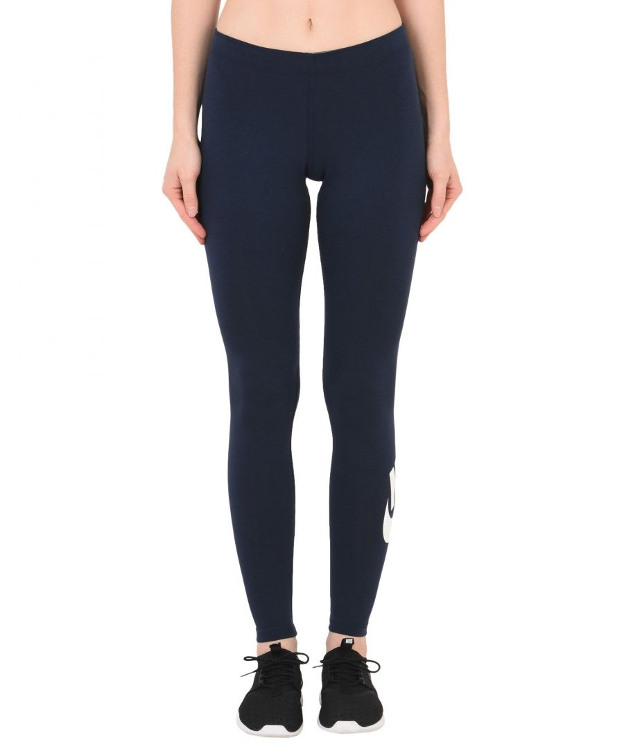 Image for Nike Dark blue, White Cotton Leggings