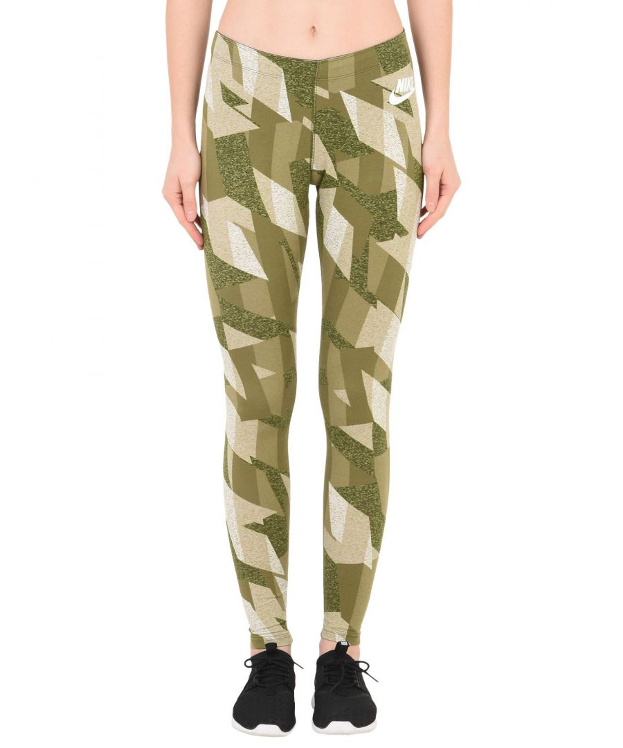 Image for Nike Green Cotton Leggings