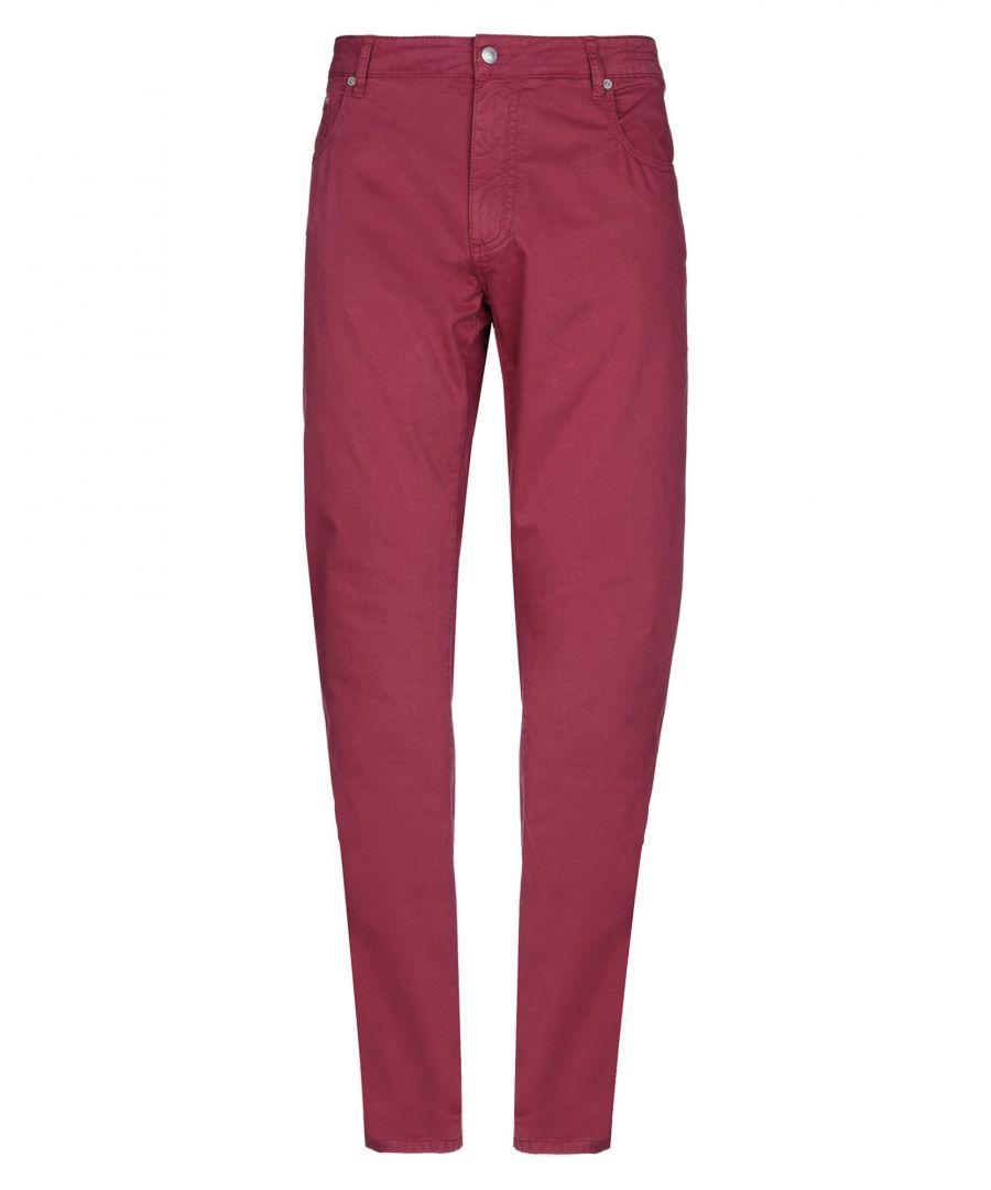 Image for Hackett Garnet Cotton Straight Leg Trousers