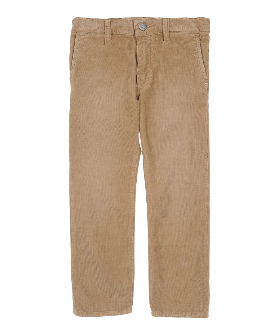 Image for (+) People Beige Boy Cotton Trousers