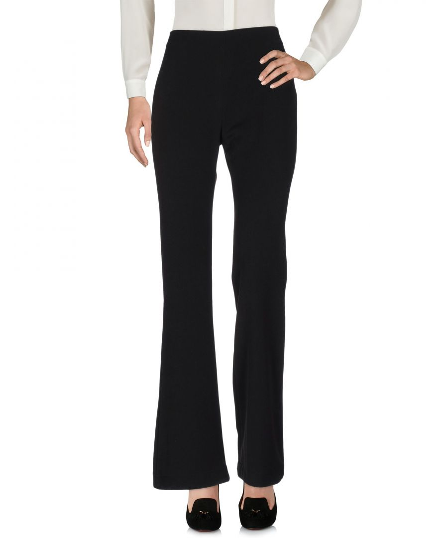 Image for Pf Paola Frani Black Wool Trousers