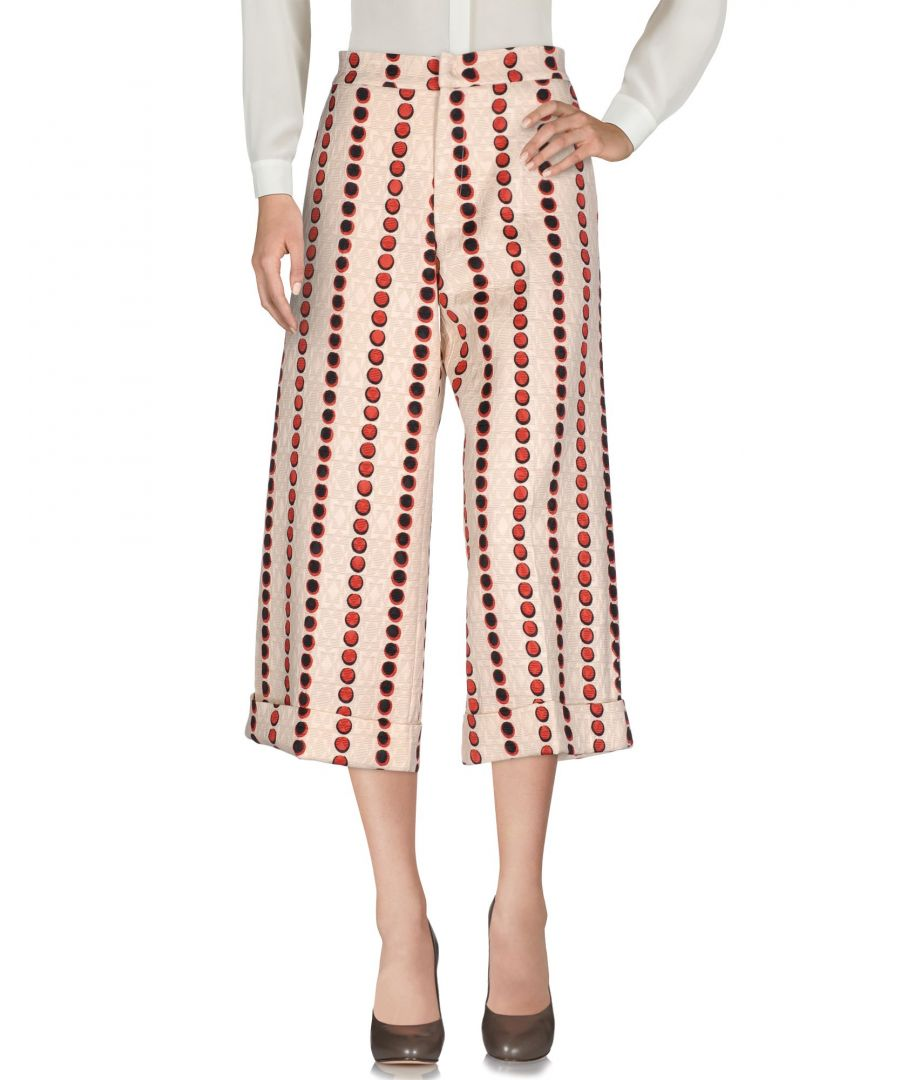 Image for Eggs Beige Viscose 3/4-length trousers