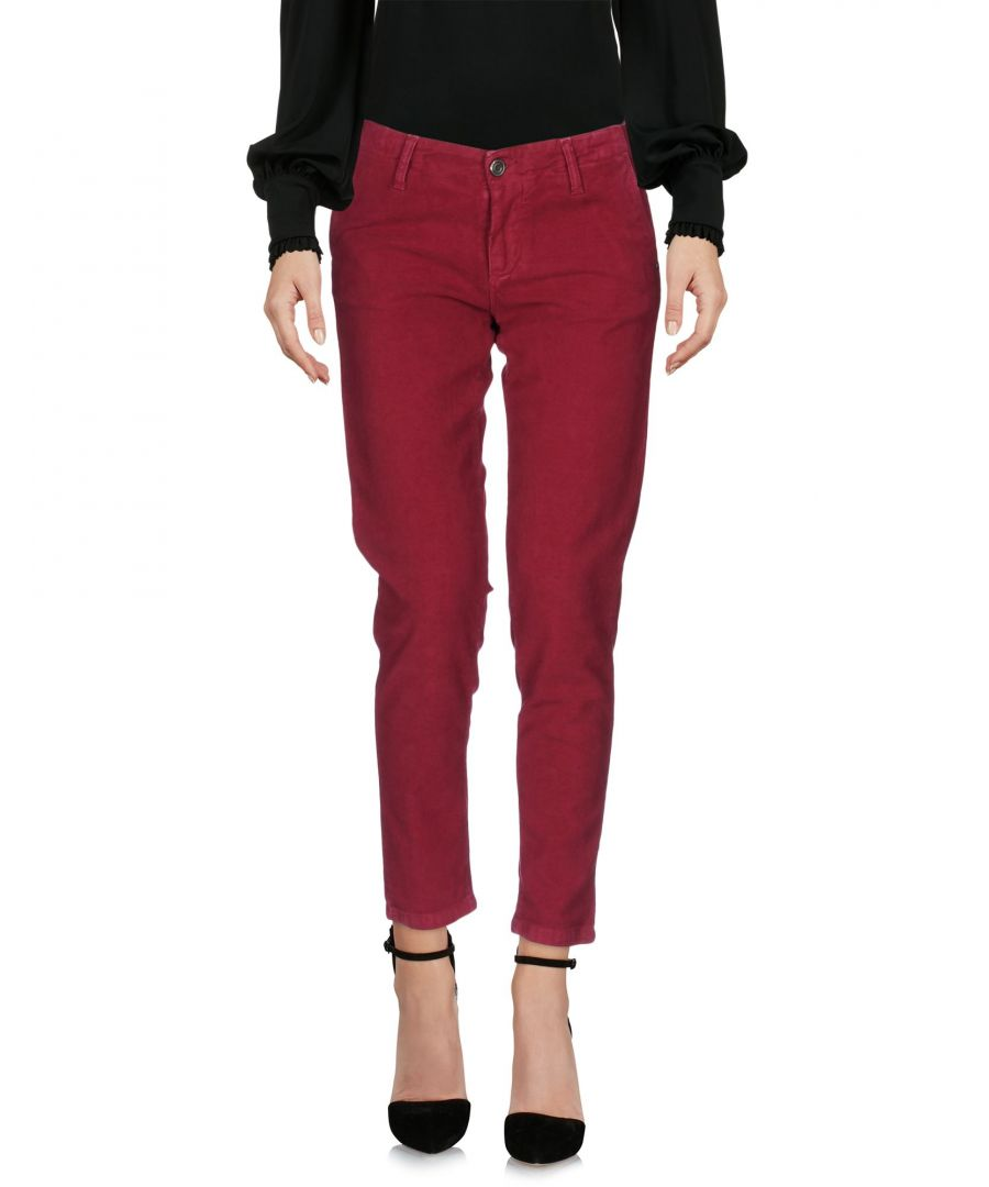 Image for Colmar Garnet Cotton Tapered Leg Trousers