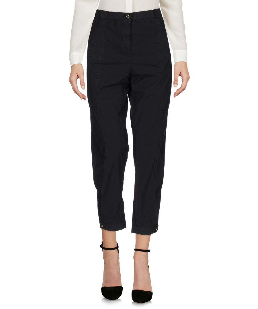 Image for Pinko Black Cotton Trousers