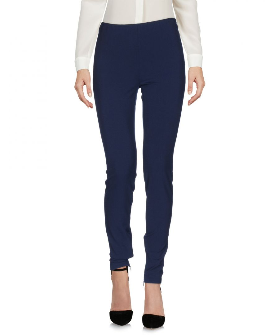 Image for Philosophy Di Alberta Ferretti Blue Straight Leg Tailored Trousers