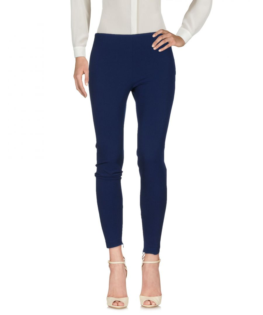 Image for Philosophy Di Alberta Ferretti Blue Straight Leg Trousers