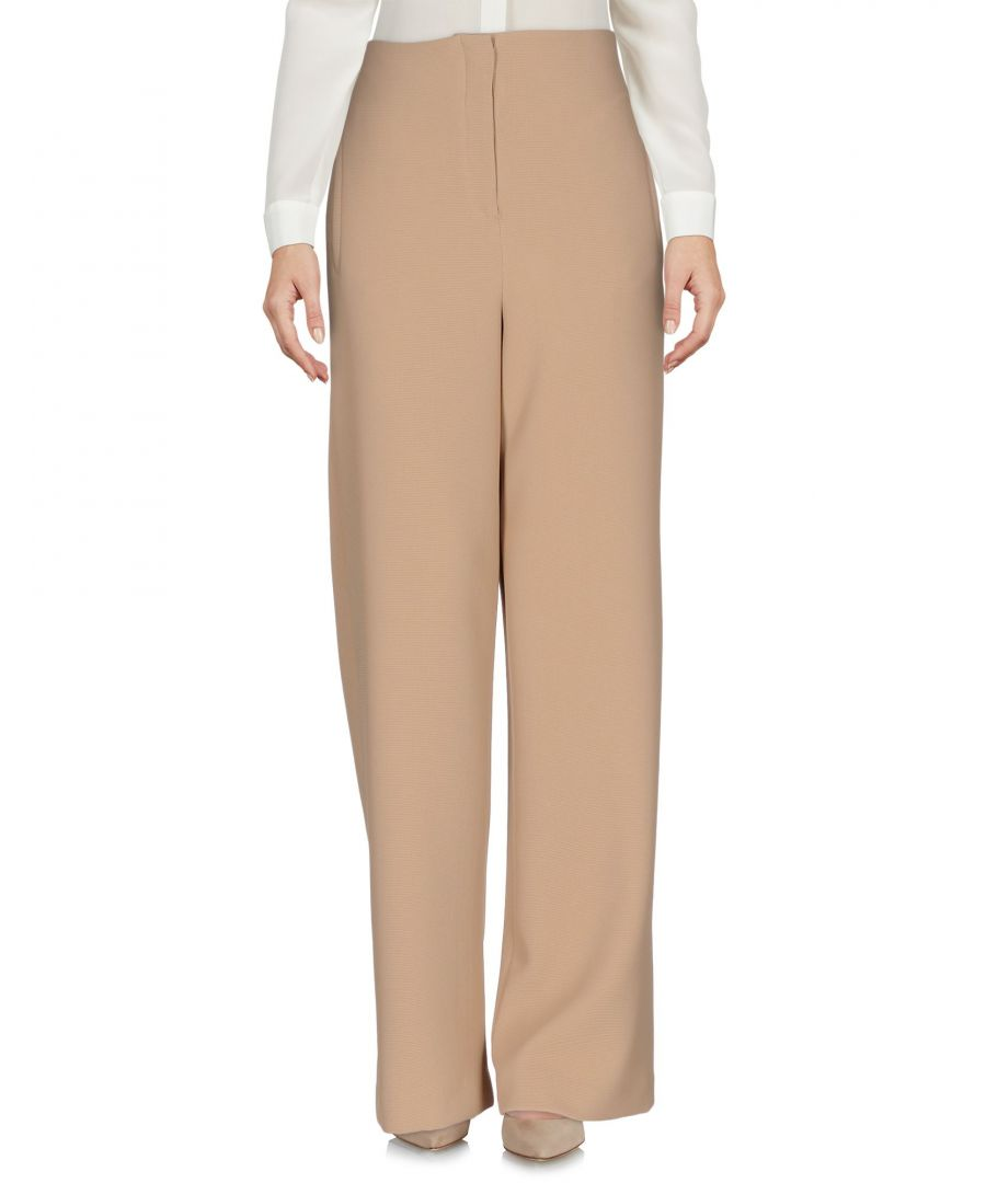 Image for Nanushka Sand High Waisted Wide Leg Trousers