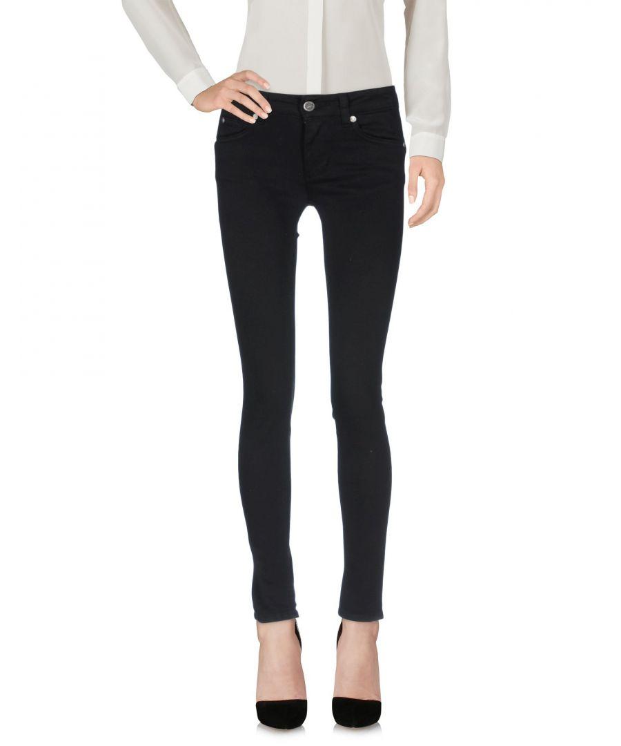 Image for Liu Jo Black Cotton Trousers