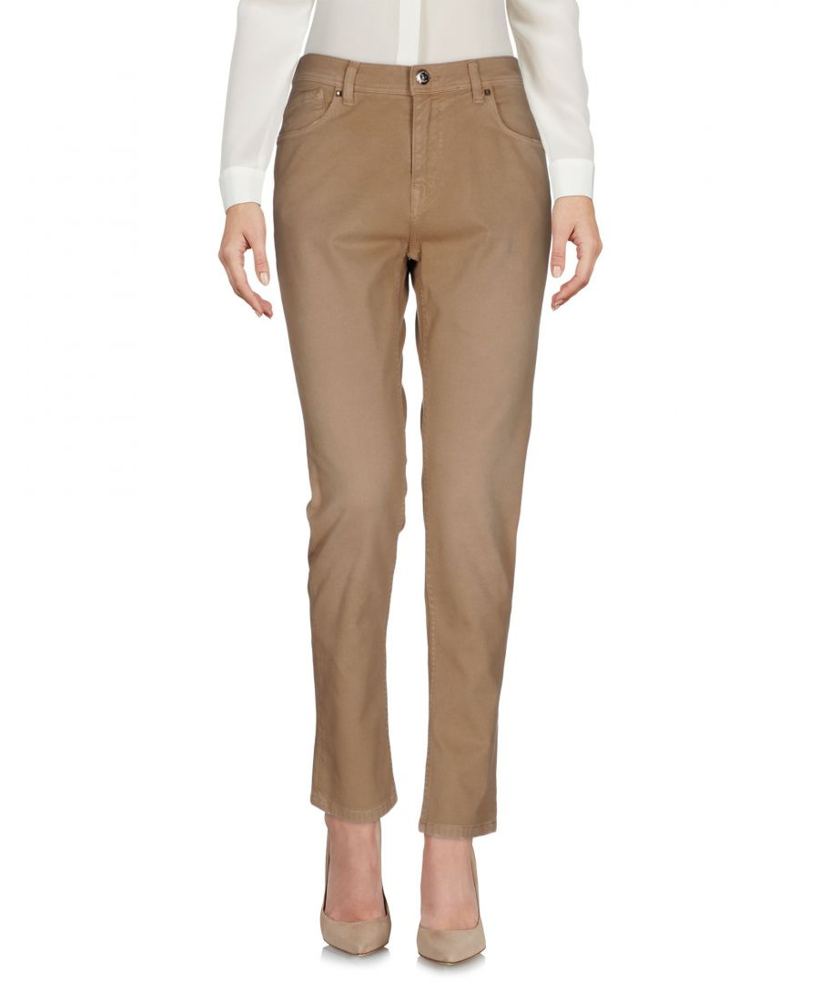 Image for 0/Zero Construction Khaki Cotton Trousers