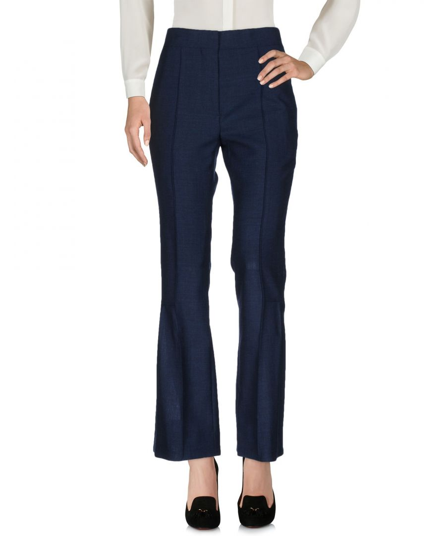Image for Marni Dark Blue Wool Trousers