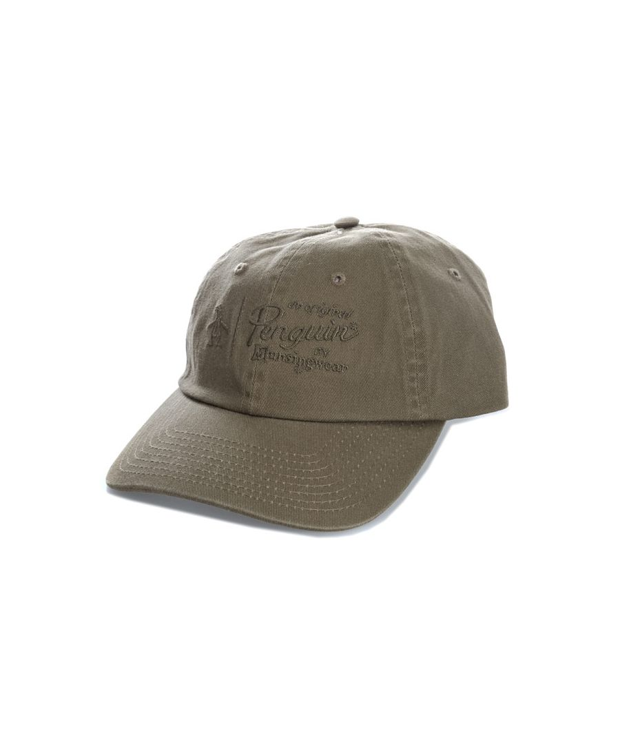Image for Accessories Original Penguin Crabtree Baseball Cap in Khaki