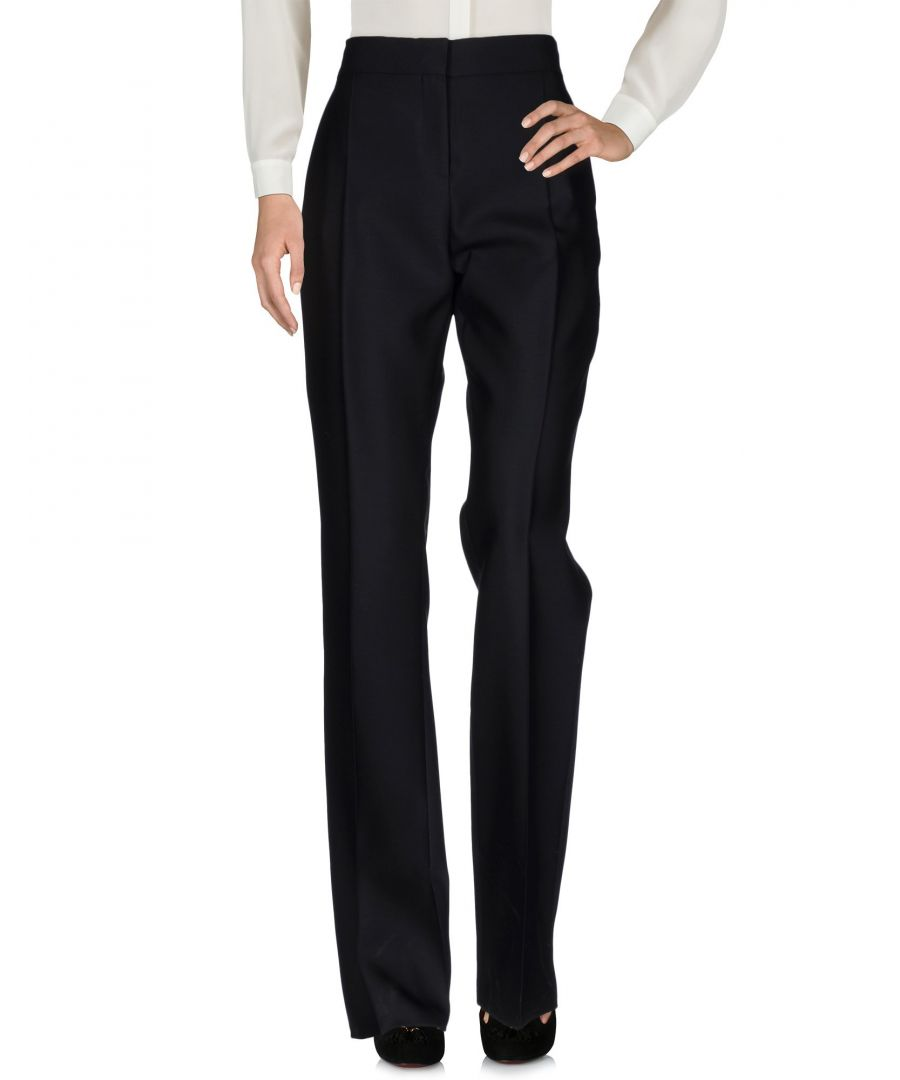 Image for Valentino Black Virgin Wool Casual Trousers