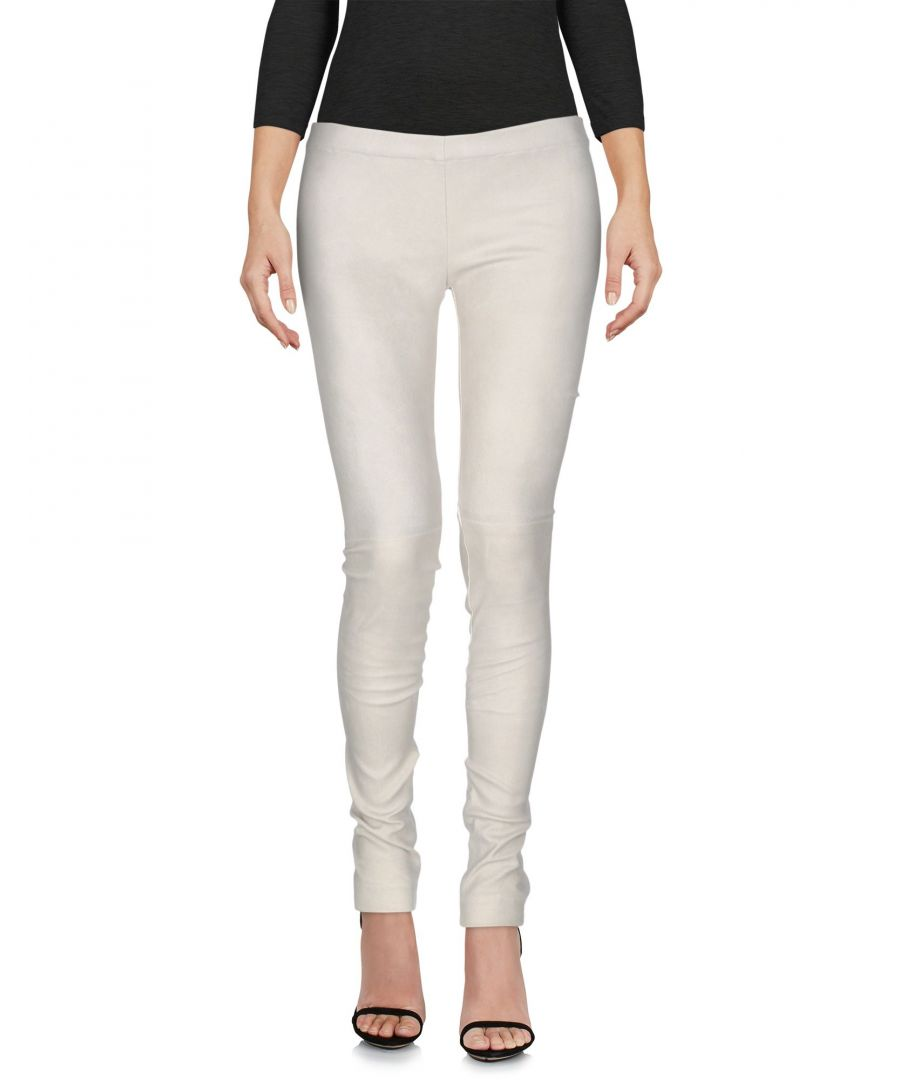 Image for Gentryportofino Light Grey Lambskin Trousers