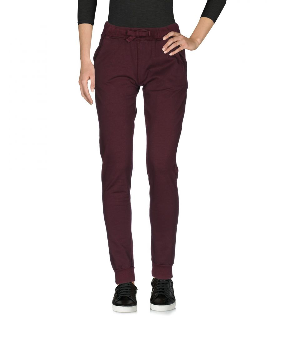 Image for Met Jeans Deep Purple Cotton Tapered Leg Joggers