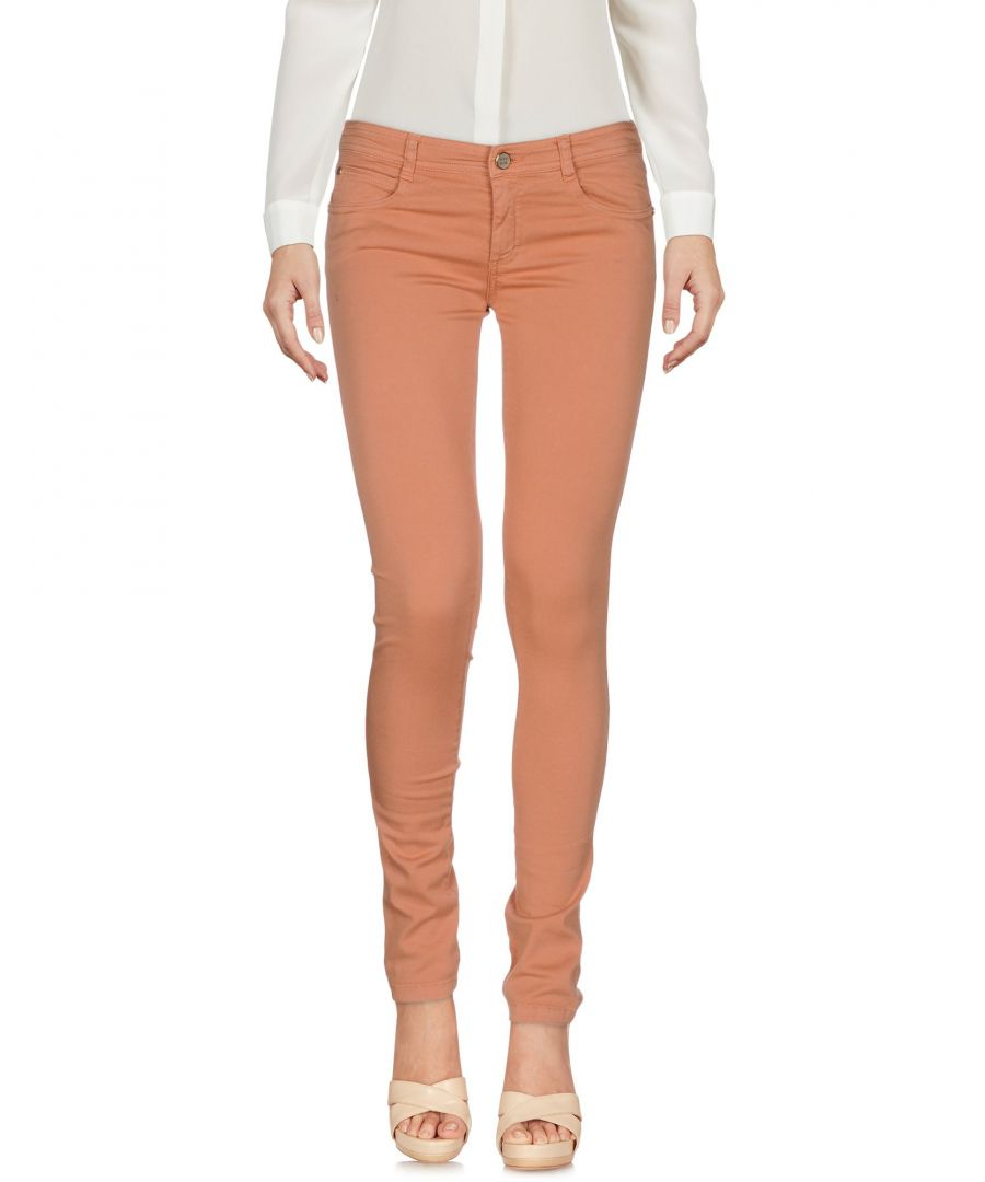 Image for TROUSERS Denny Rose Pale pink Woman Cotton