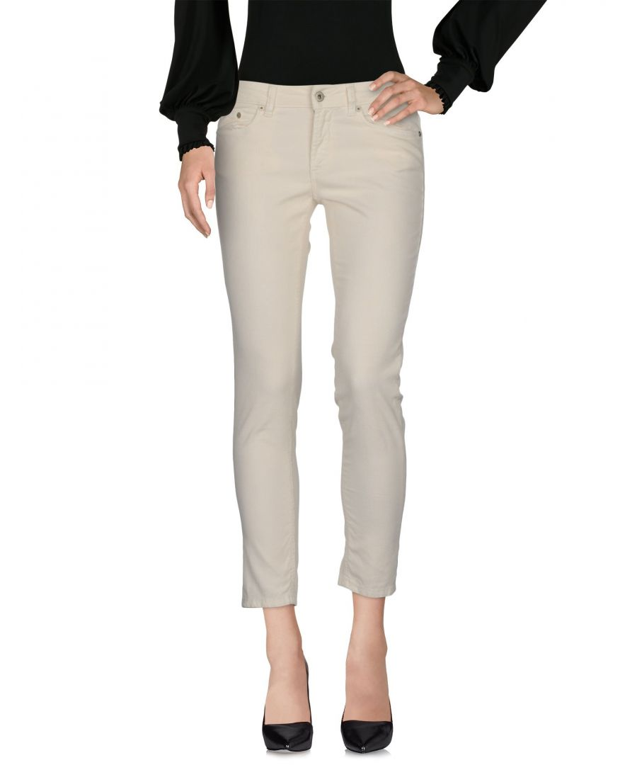 Image for Dondup White Cotton Trousers