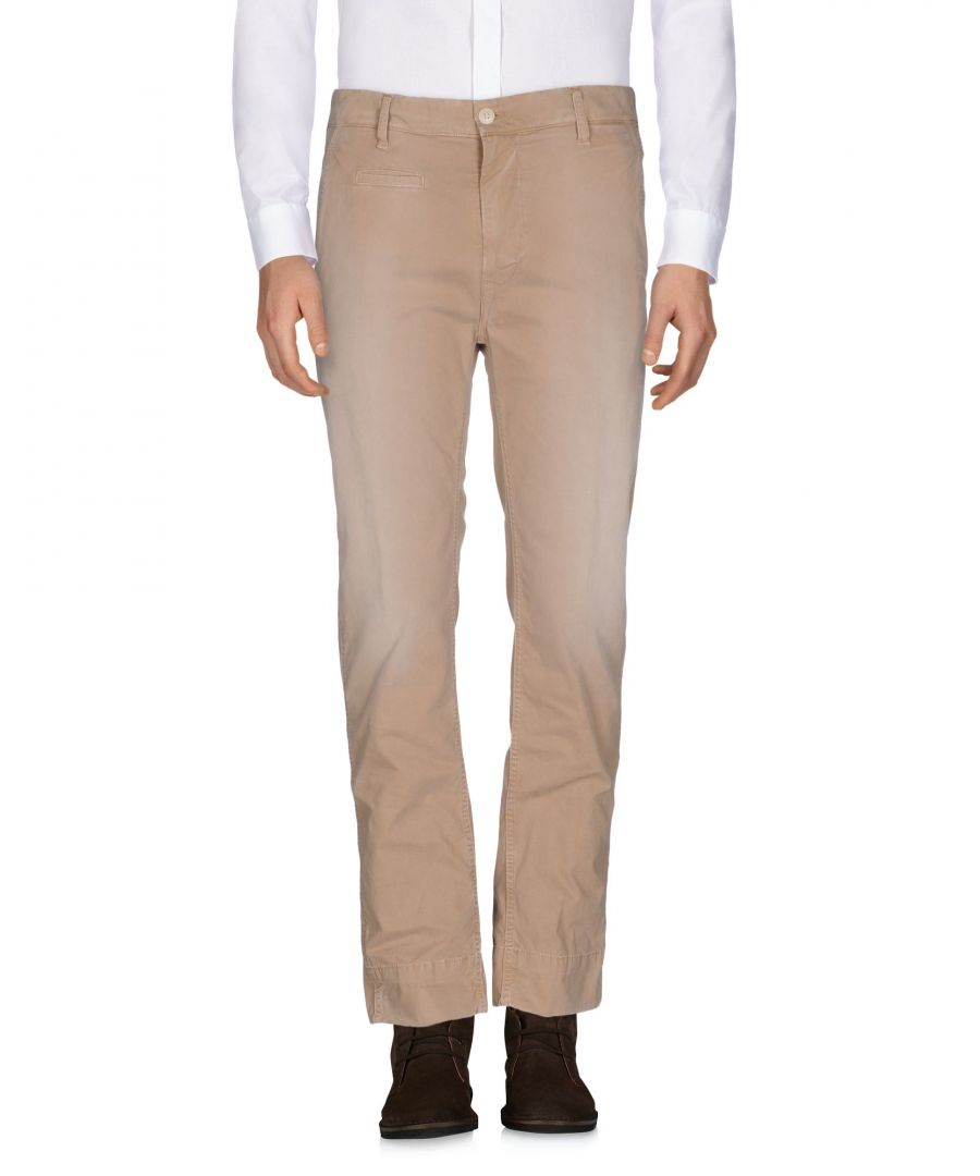 Image for People Lab. Beige Cotton Trousers