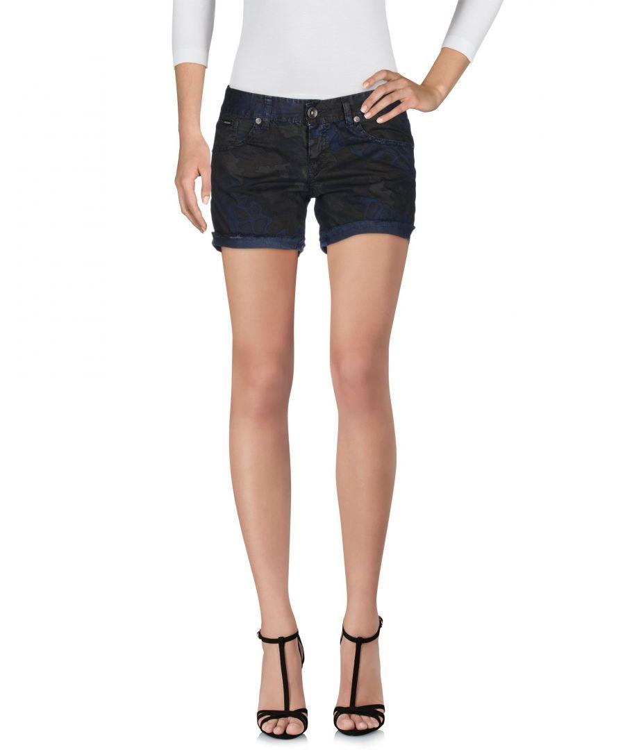 Image for Rrd Dark Blue Cotton Shorts