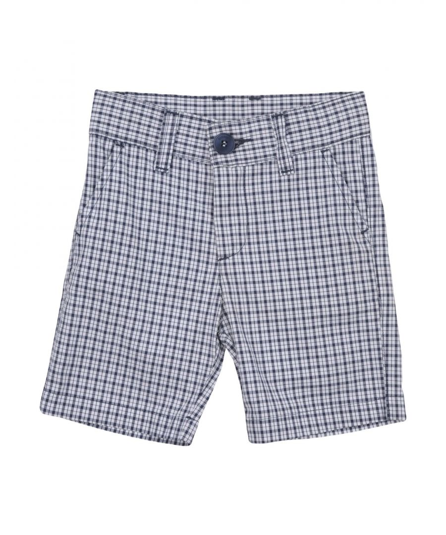 Image for Bikkembergs Dark blue Boy Cotton Shorts