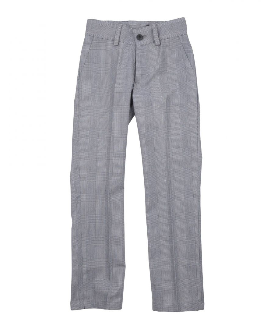 Image for Daniele Alessandrini Grey Boy Cotton Trousers