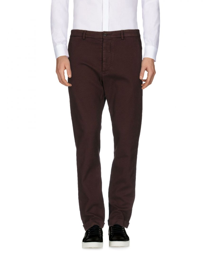 Image for TROUSERS True Nyc� Maroon Man Cotton