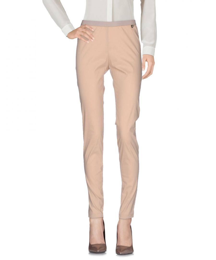 Image for TROUSERS Twinset Beige Woman Cotton