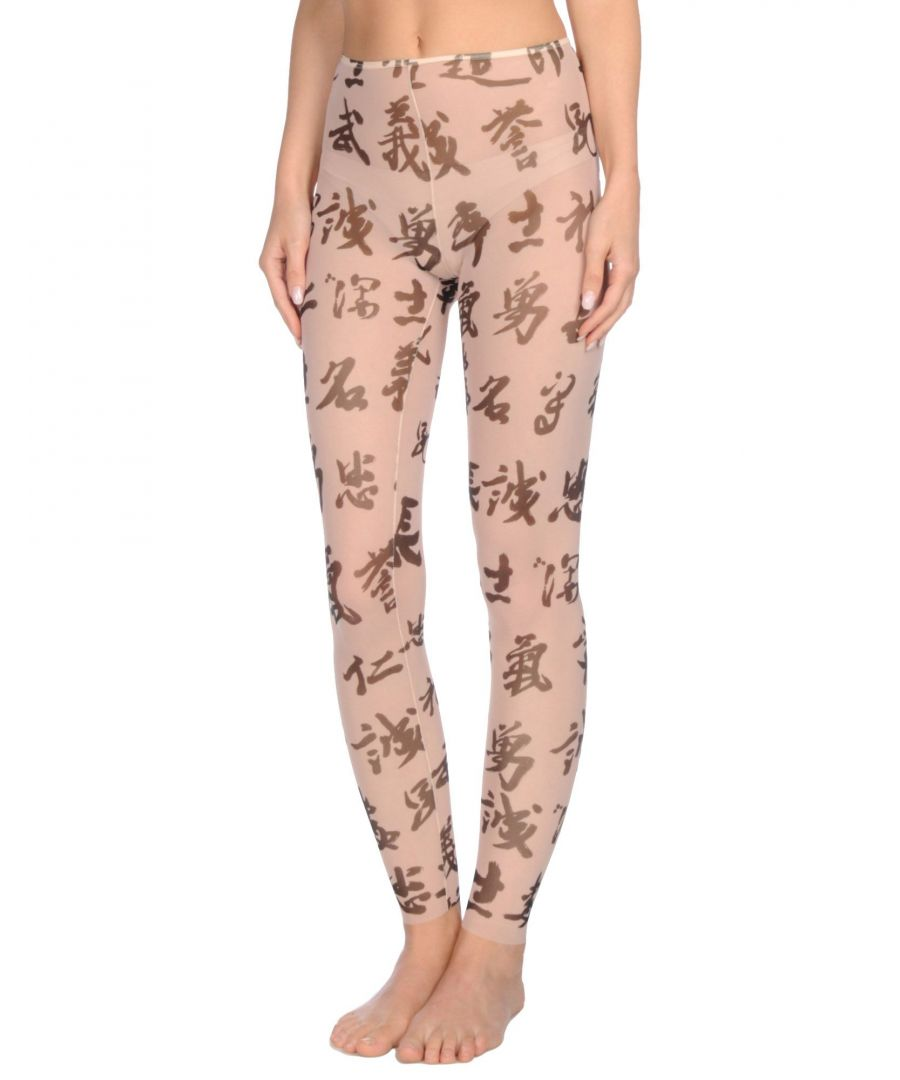Image for Dsquared2 Pale Pink Tulle Print Leggings