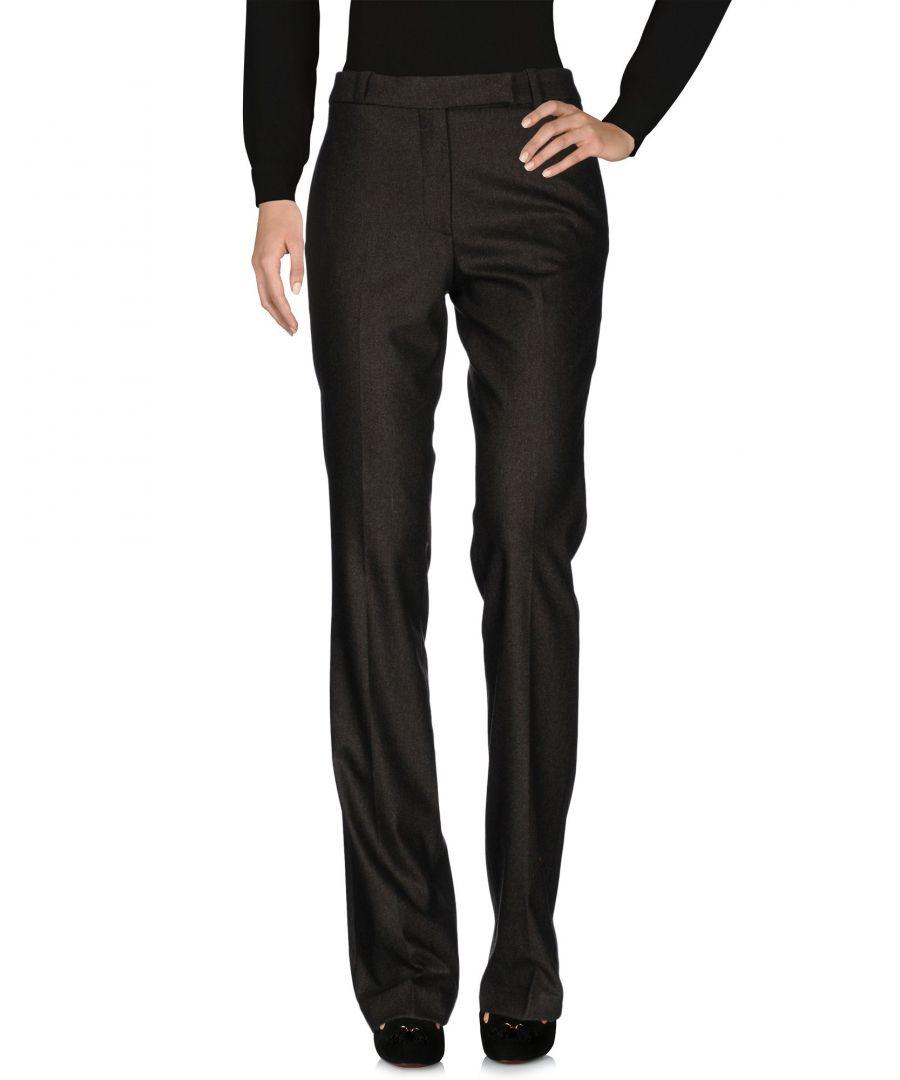 Image for Belstaff Dark Green Virgin Wool Trousers