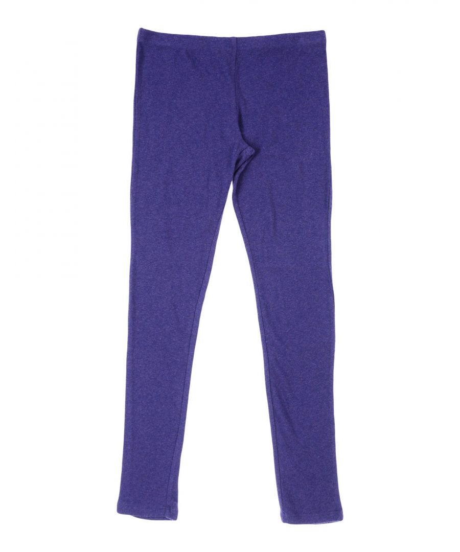 Image for TROUSERS Girl Manila Grace Purple Cotton