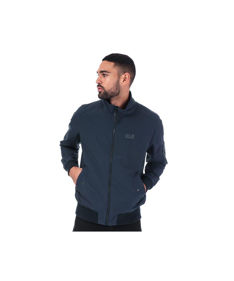 Image for Men's Jack Wolfskin Huntingon Jacket in Blue