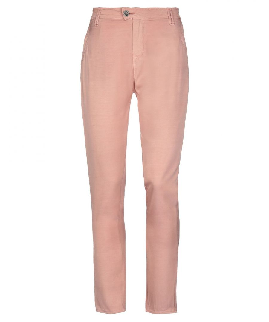 Image for Trousers Women's Cycle Pastel Pink Viscose