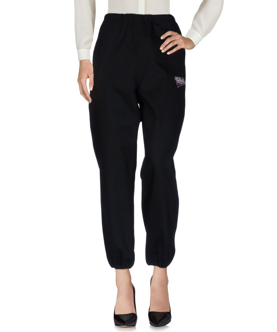 Image for Alexander Wang Black Cotton Trousers